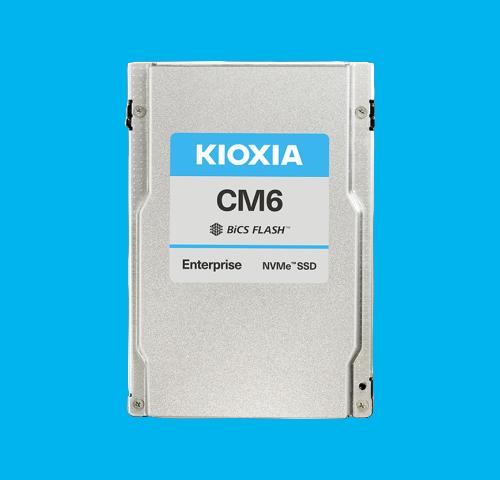 KIOXIA Enterprise NVMe™ SSD CM6 Series