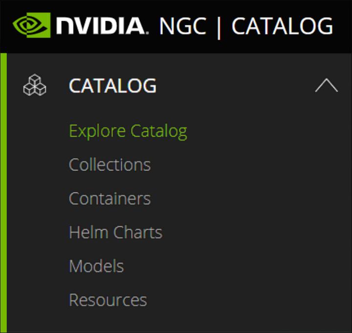 NVIDIA NGC Catalog